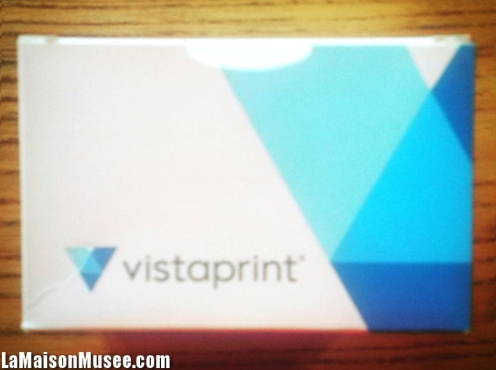 Mode économique envoi Vistaprint