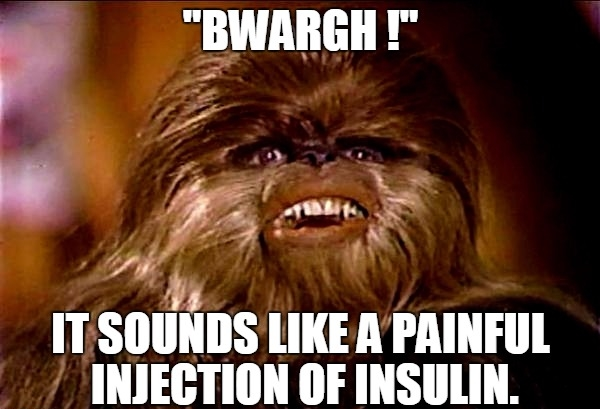 Douleur Chewbacca