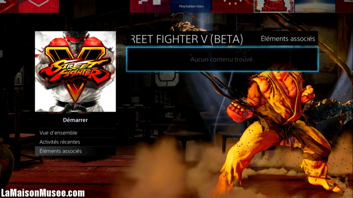 Avis Beta SF V Capcom France