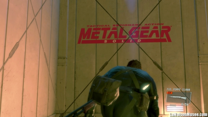 Details Easter Eggs Ground Zeroes PS4