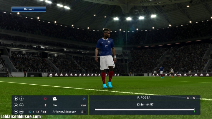 Paul Pogba PES 2016 capacites