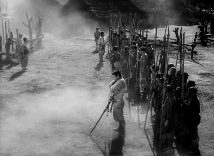 Tournage Mifune Les Sept Samourais Akira Kurosawa