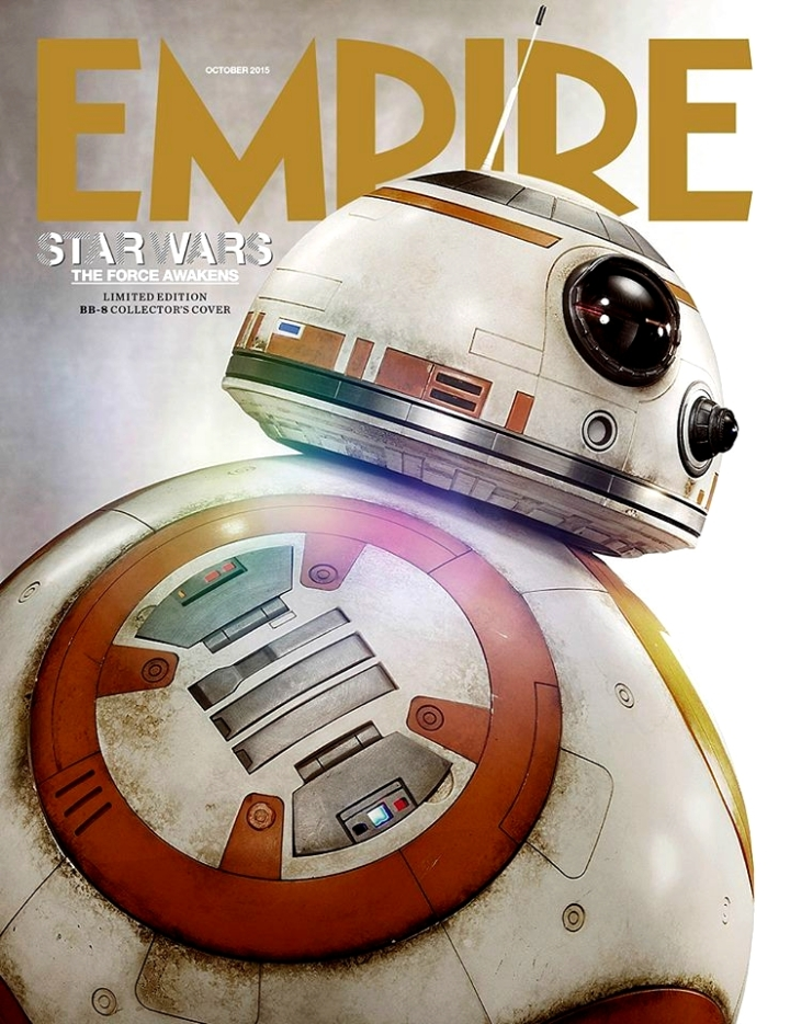 Couverture BB-8 Empire Magazine Blog