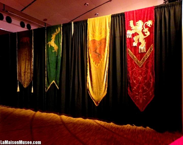 Bannières Tissu Game of Thrones