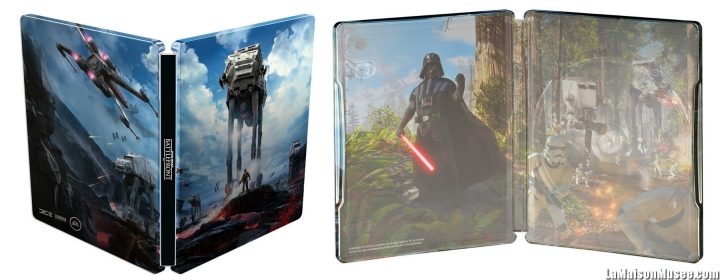 Artworks Steelbook Star Wars Battlefront