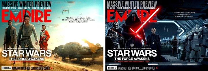 Couvertures Collector Star Wars 7