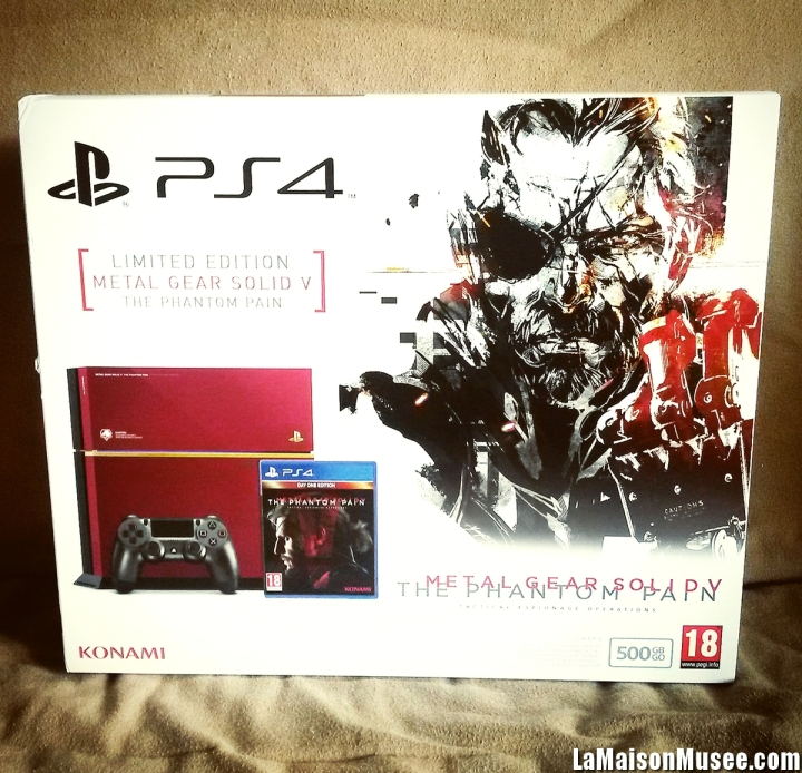Artwork PS4 Box MGS 5 TPP