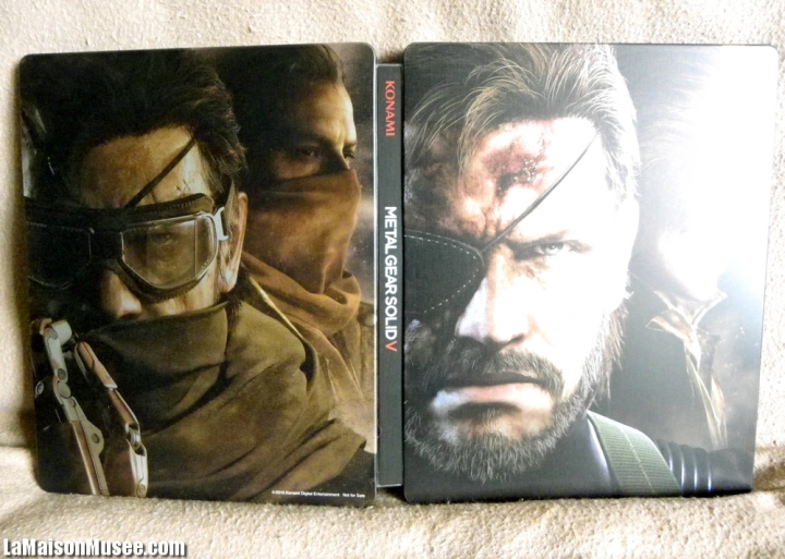 Steelbook Collection MGS 5 TPP