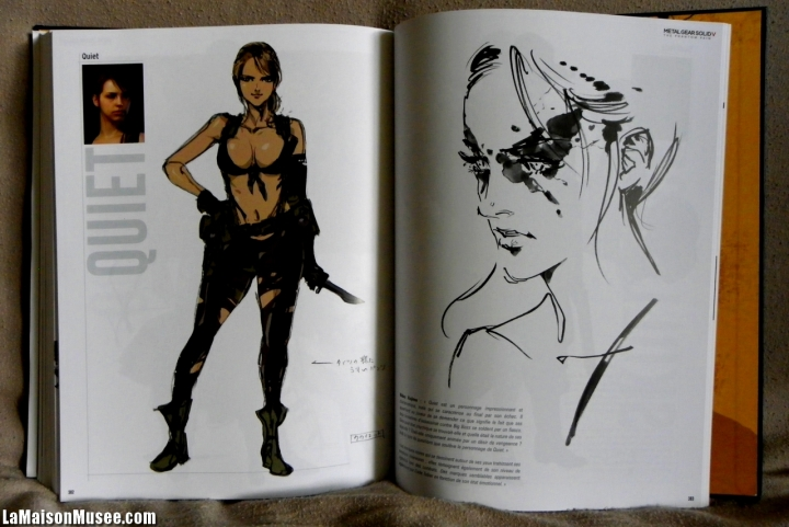 Quiet Artwork MGS 5 TPP