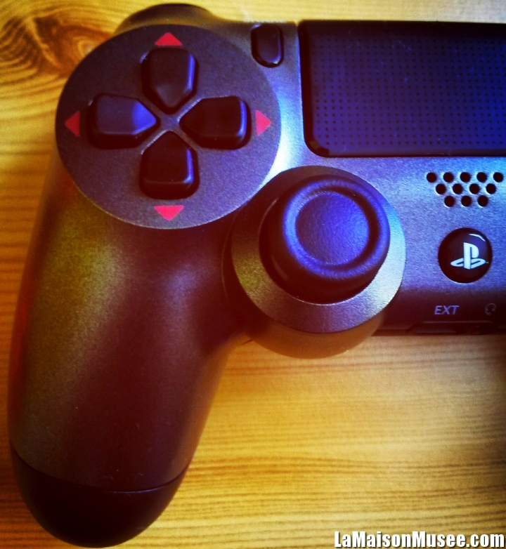 Tirage Console PS4 Rouge MGS V TPP
