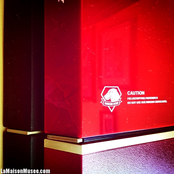 Defauts Console PS4 MGS 5 Rouge