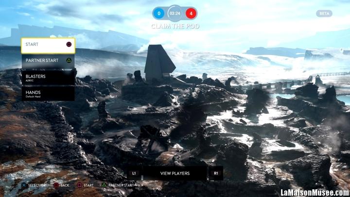 La Bêta Star Wars Battlefront peut compter sur des serveurs relativement fiables et permettant d'organiser et trouver facilement des adversaires. Un point intéressant à relever dans les qualités de la session Bêta.