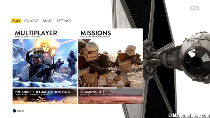 Beta Star Wars Battlefront Test