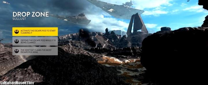 Parties Drop Zone Star Wars Battlefront