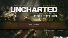 Uncharted NDC PS4 PlayStation 4