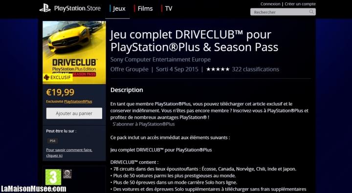 DriveClub Edition Full DLC