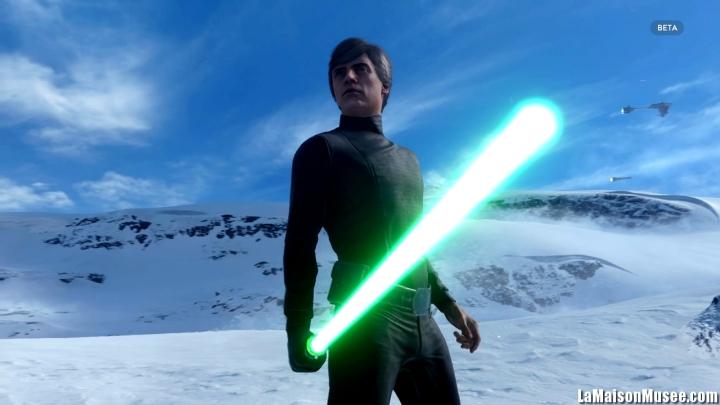 Luke Skywalker Star Wars Battlefront PS4