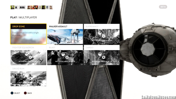 Artworks Star Wars Battlefront Beta