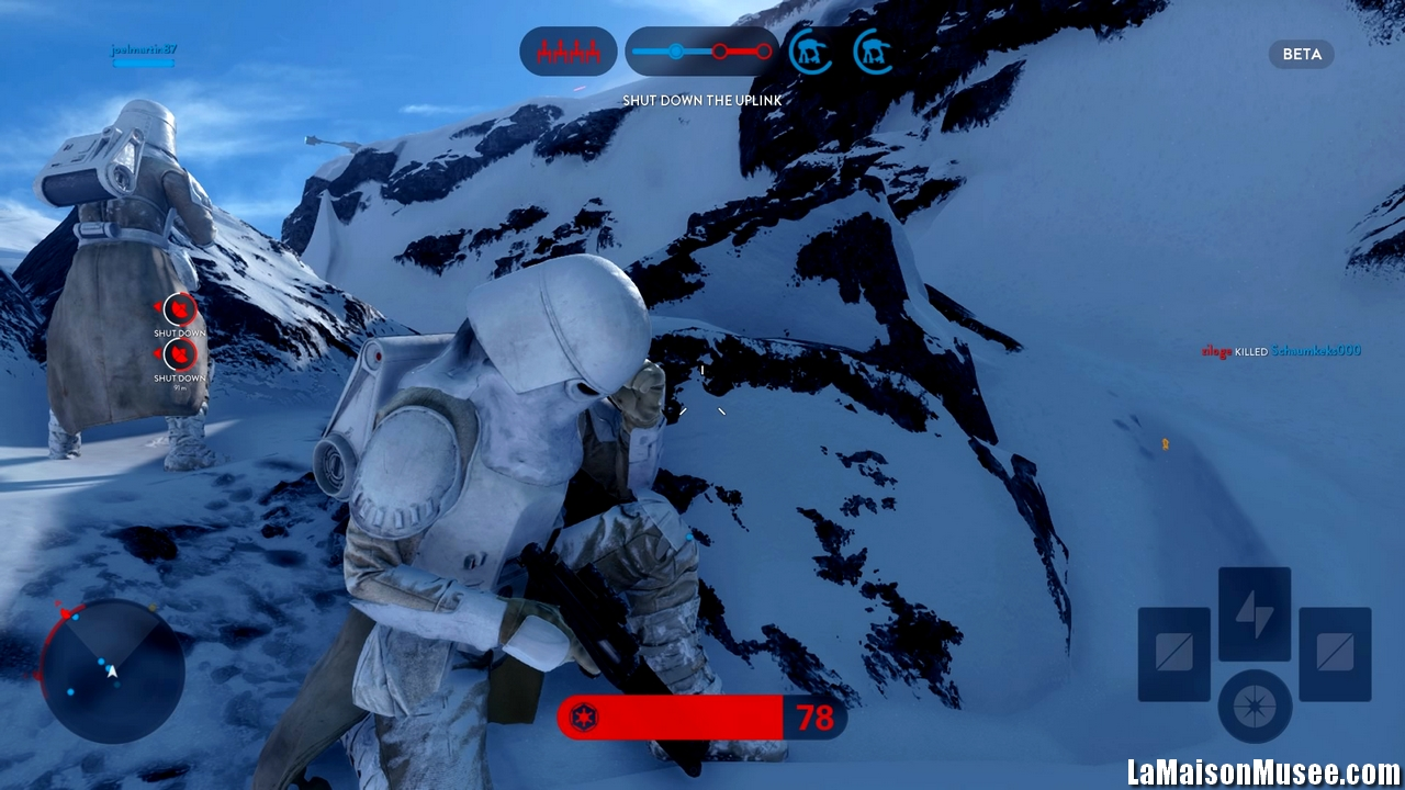 Aperçu Et Démo Star Wars Battlefront Bêta Blaster à