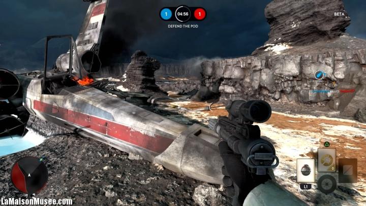 X-Wing StarFighter Star Wars Battlefront