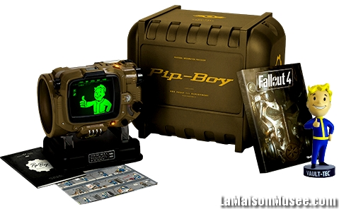 Pip Boy Artwork PS4