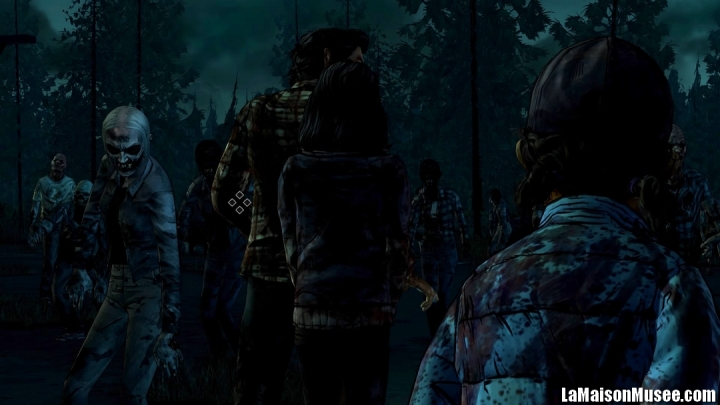 Test The Walking Dead PS4