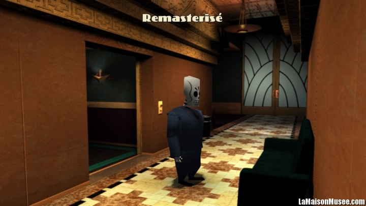 Remastered Grim Fandango PS4