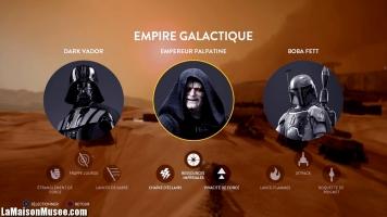 Heros Vilains Star Wars Battlefront
