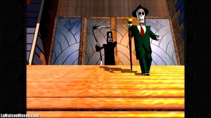 Grim Fandango Blog PS4