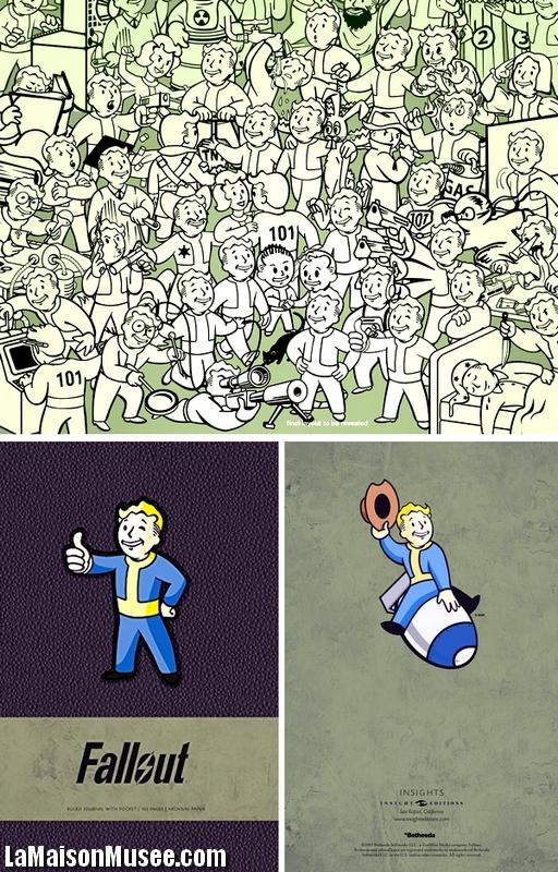 Notebook Bethesda Fallout 4