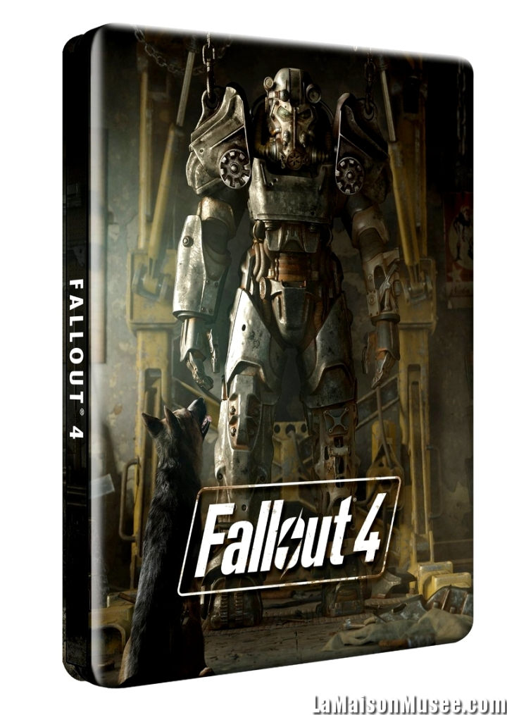 Steelbook Fallout Photo