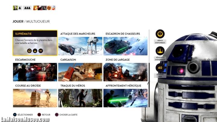 Fonctionnement Suprematie Star Wars Battlefront