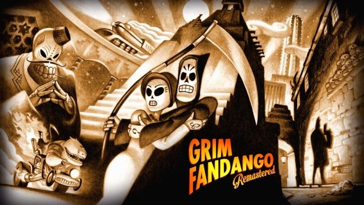 Fond d'ecran Grim Fandango Remastered