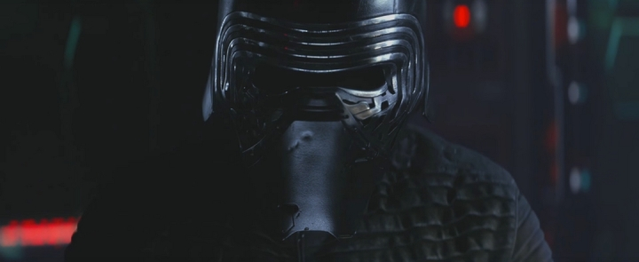 Origines masque Kylo Ren
