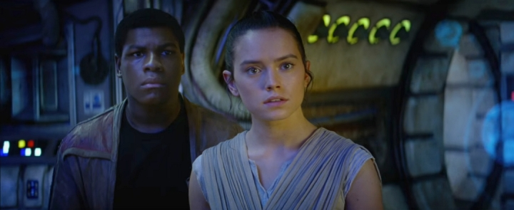 Daisy Ridley Jeu d'acteur Star Wars VII