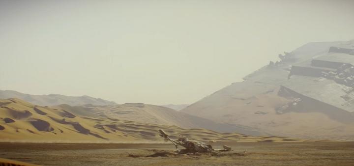 Explications Jakku Star Wars VII