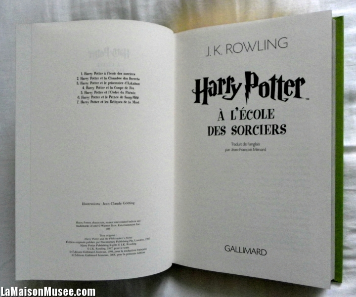 Photos Edition Deluxe Harry Potter
