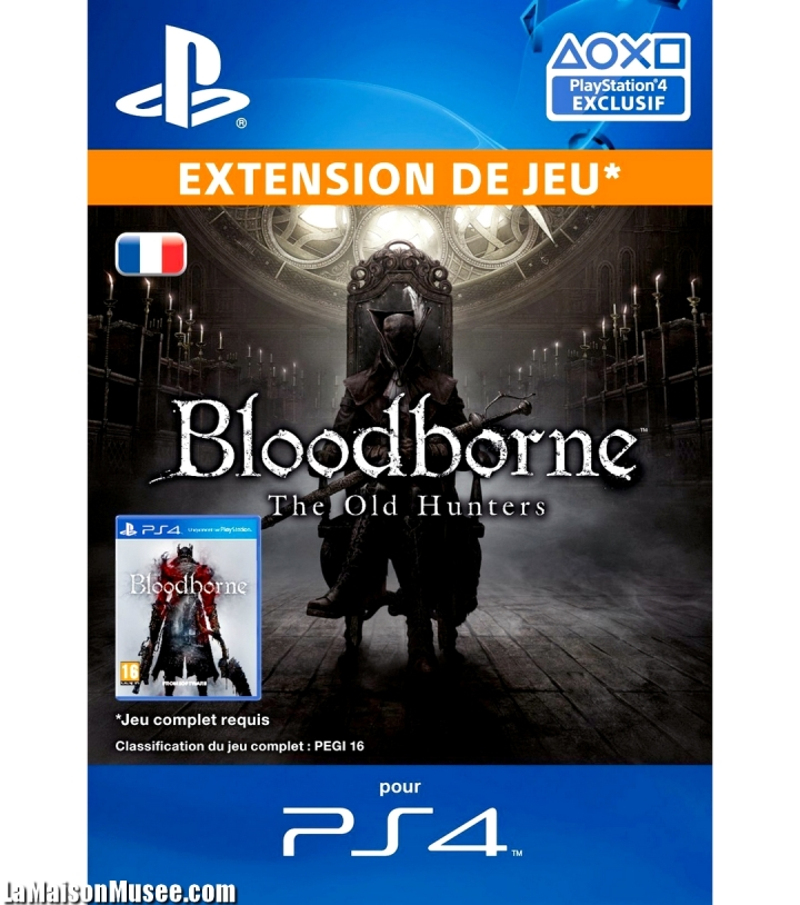 Bloodborne Coupon DLC Old Hunters