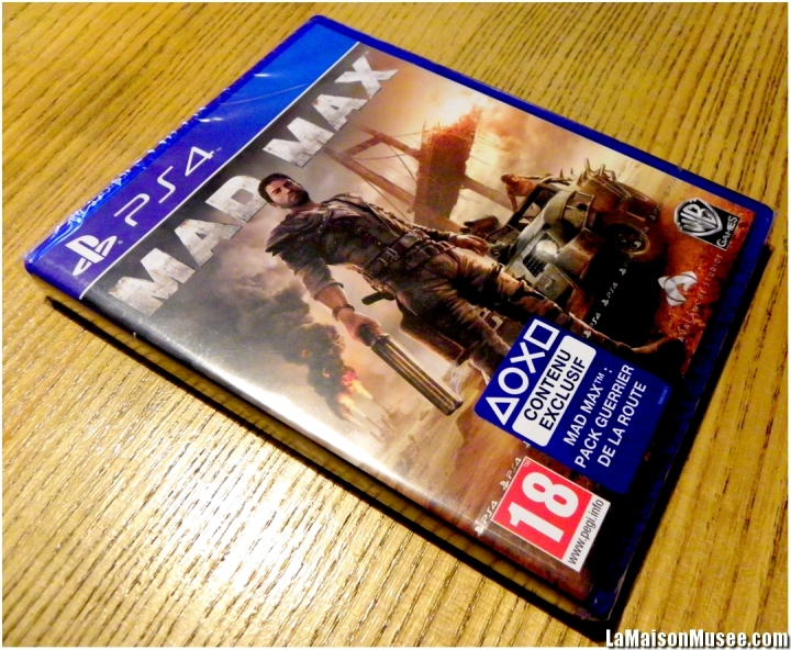 Mad Max Le Jeu Video PlayStation 4