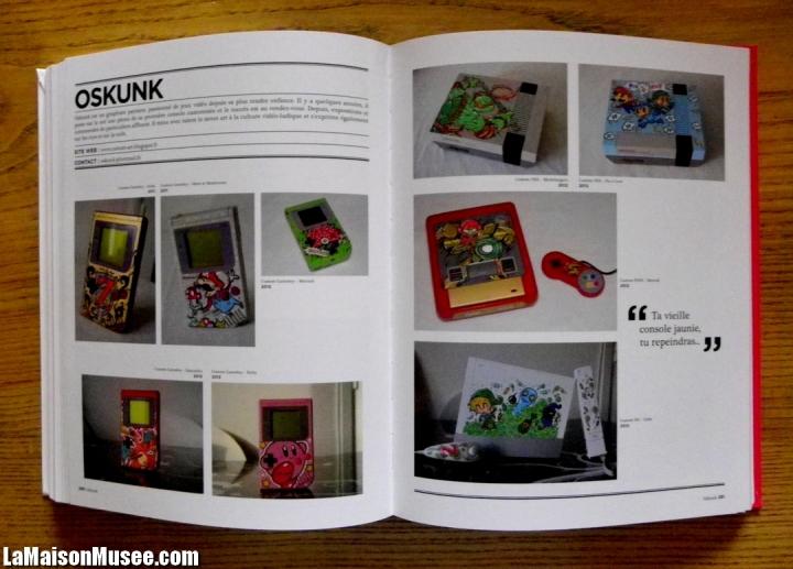 Consoles Geek Art personnalisees