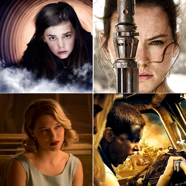 Personnages feminins 2015 Cinéma