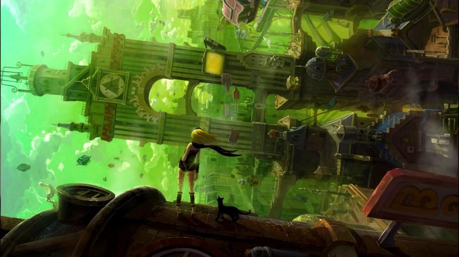 Artwork Gravity Rush Remastered PS4