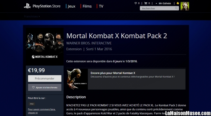 Blog Kombat Pack 2 MK X