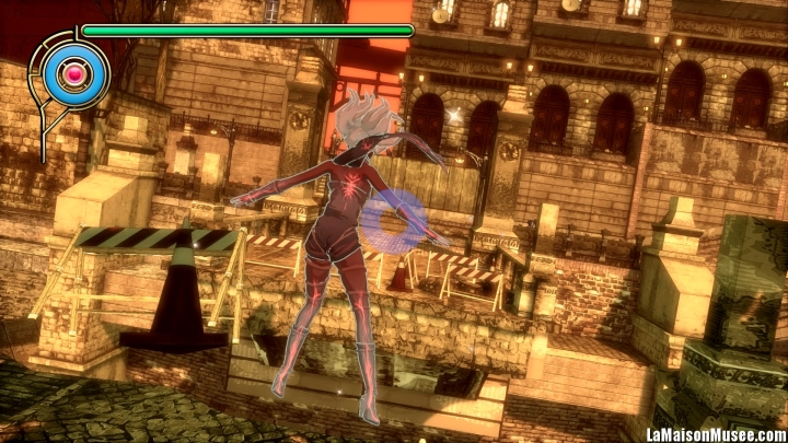 Gravity Rush Explications Systeme