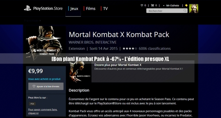Blog Mortal Kombat XL