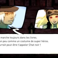 """Echange issu du DLC """"Espionnage""""."""