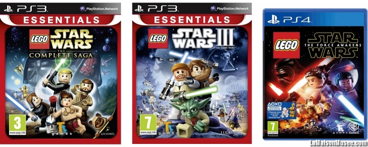Chronologie LEGO Star Wars Consoles