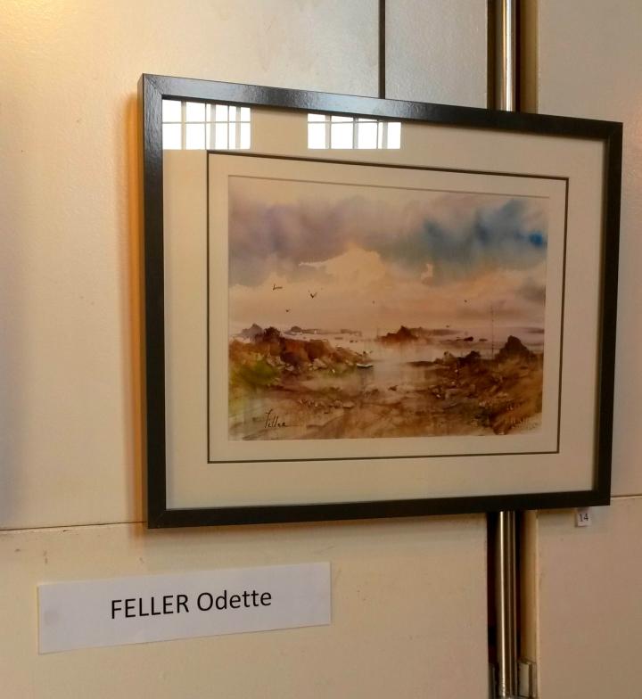 Aquarelliste Odette Feller