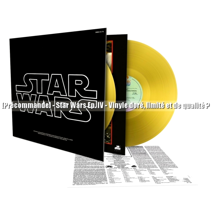 Vinyle Or Star Wars 2016