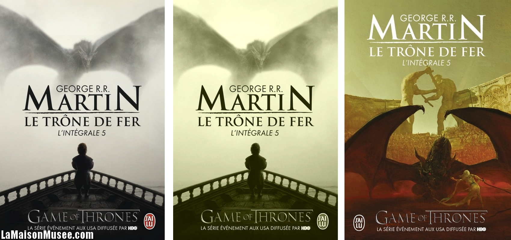 Litterature Le Trone De Fer Nouvelles Couvertures